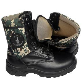 正品新款火箭军作战靴真皮男迷彩军鞋配发特种兵战术靴训练鞋户外