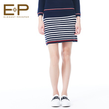 EP 雅莹女装2016冬季新款专柜针织包臀半身裙9301a图片