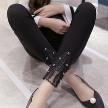 小脚打底裤 铅笔裤 潮妈 孕妇装 纯棉修身 孕妇裤 外穿长裤 春秋薄款 春装