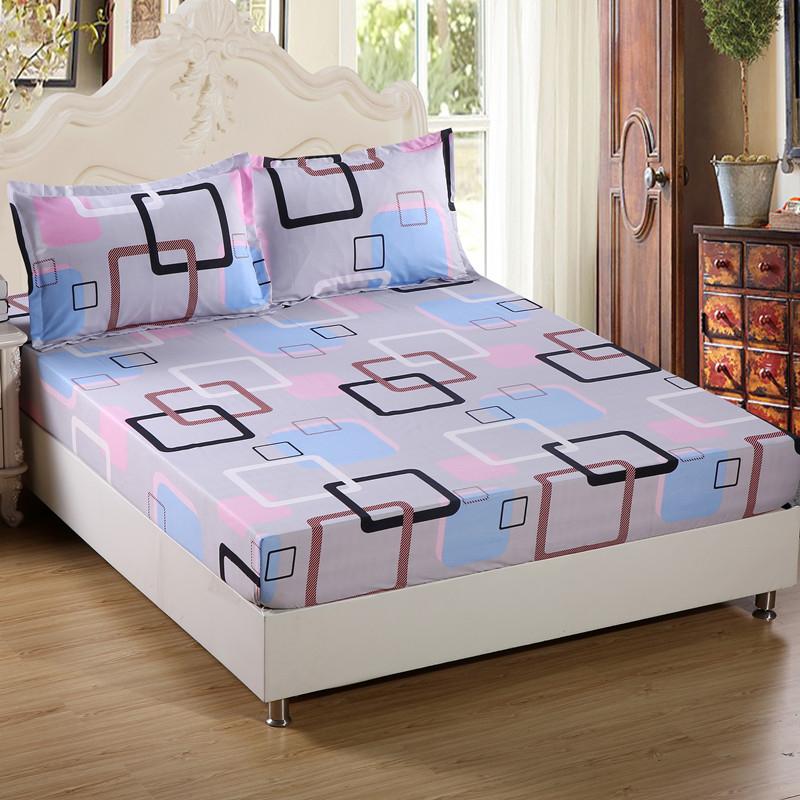 席夢思護套卡通床笠單件兒童床罩 床墊 18米 棕墊