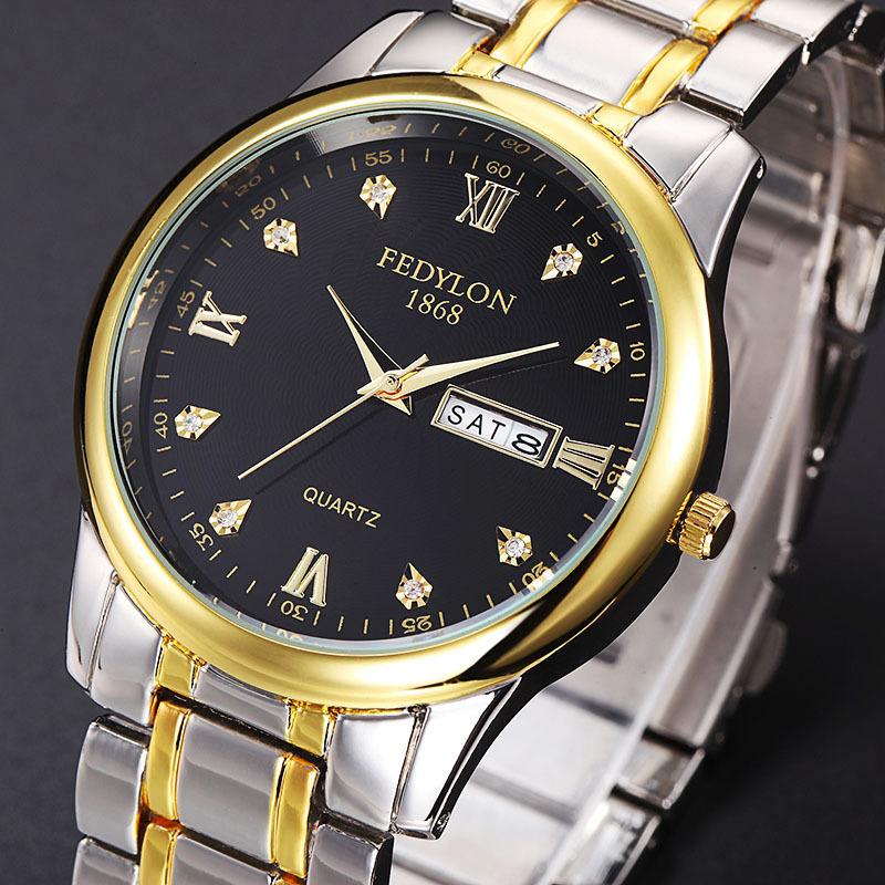 佛蒂仑品牌钟表厂家批发 一件代发情侣手表微商货源爆款男士手表
