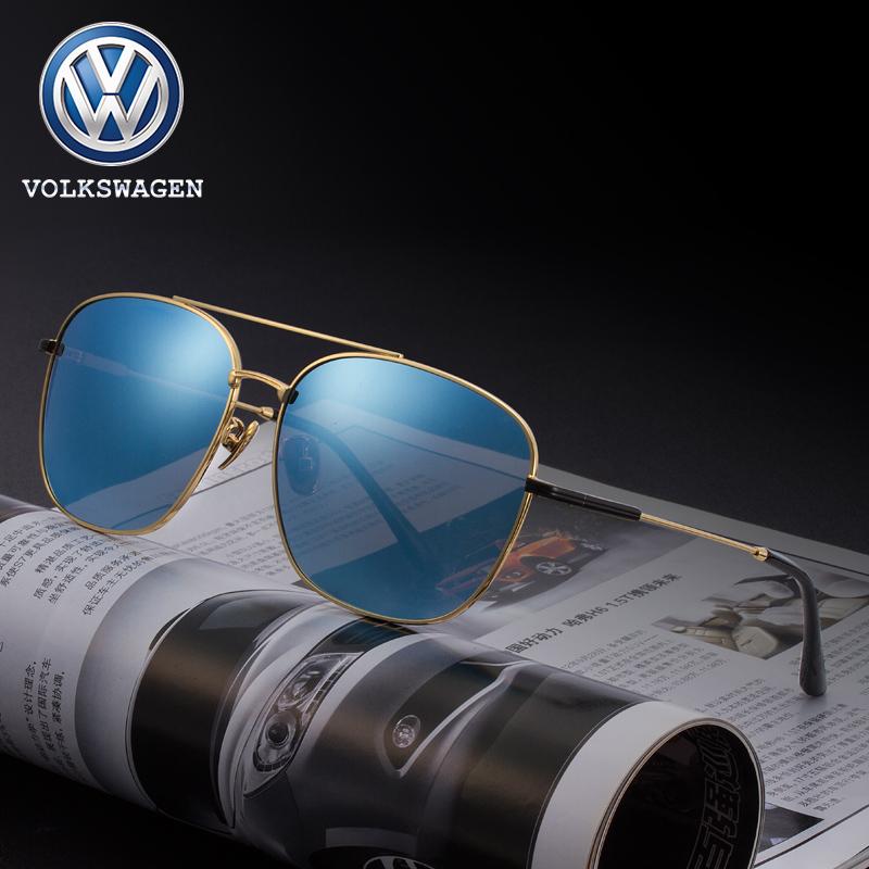 眼鏡駕駛偏光可配帶墨鏡司機度數男士近視太陽鏡 大眾