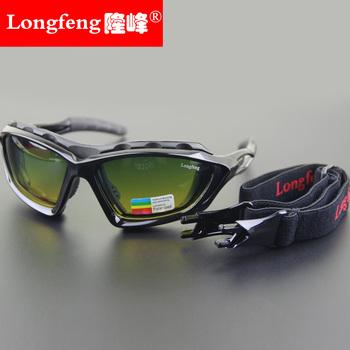 骑行眼镜日夜片两用偏光镜男女款摩托车风镜自行车山地车防风墨镜