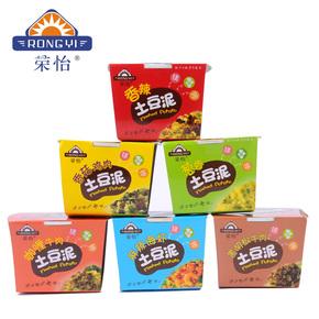 荣怡土豆泥粉6盒装 代餐方便速食夜宵零食即食品(口味随机)