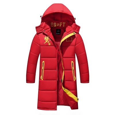 2017冬装新款青年中长款加厚棉衣外套男士冬季韩版大码保暖棉袄潮