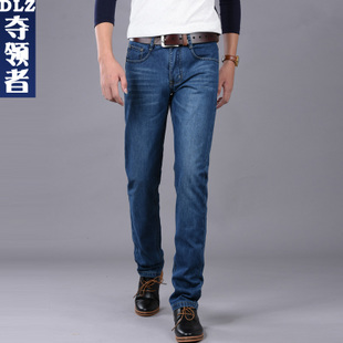 夏季男士直筒休闲牛仔裤