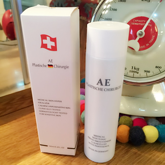 德国AE活泉修复抗自由基精华爽肤水纯植物无添加保湿水160ML清爽