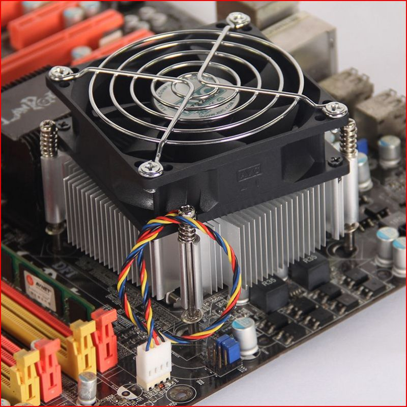 i3i5台式机电脑cpu风扇散热