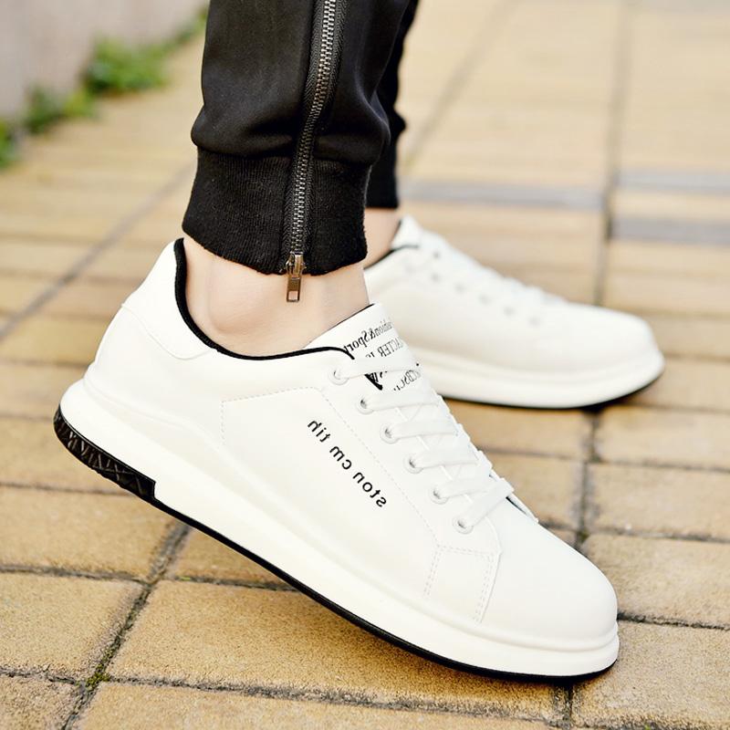 2017夏季新款帆布鞋男士休闲白鞋韩版潮流板鞋百搭布鞋小白男鞋子