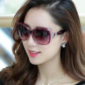 大框太阳镜女潮开车旅行防紫外线女士大框墨镜太阳眼镜