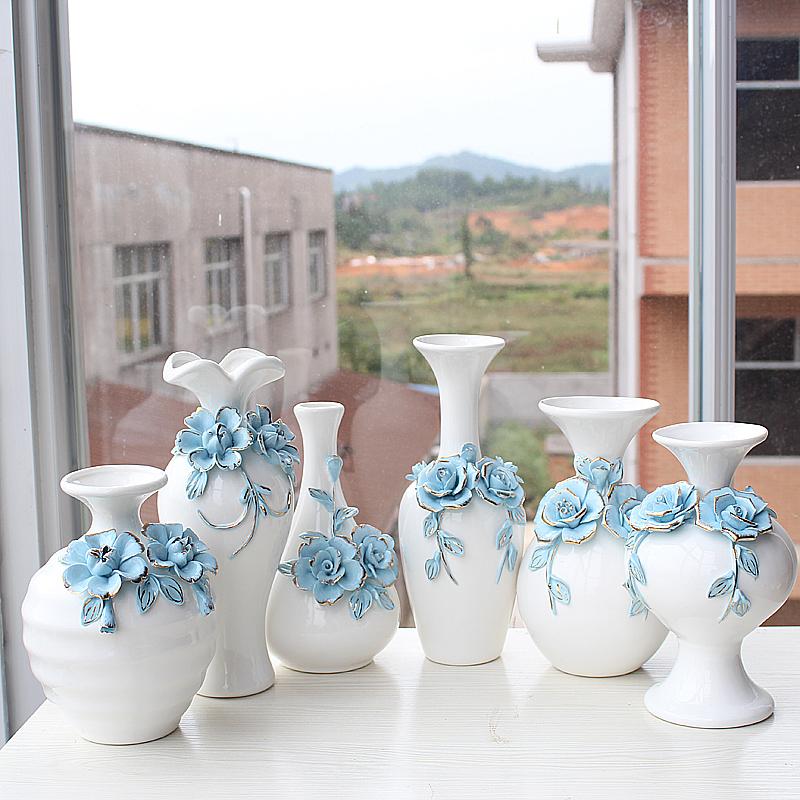 家居花瓶宽图_供应景德镇陶瓷花瓶欧式家居摆件工艺品_欧式效果图