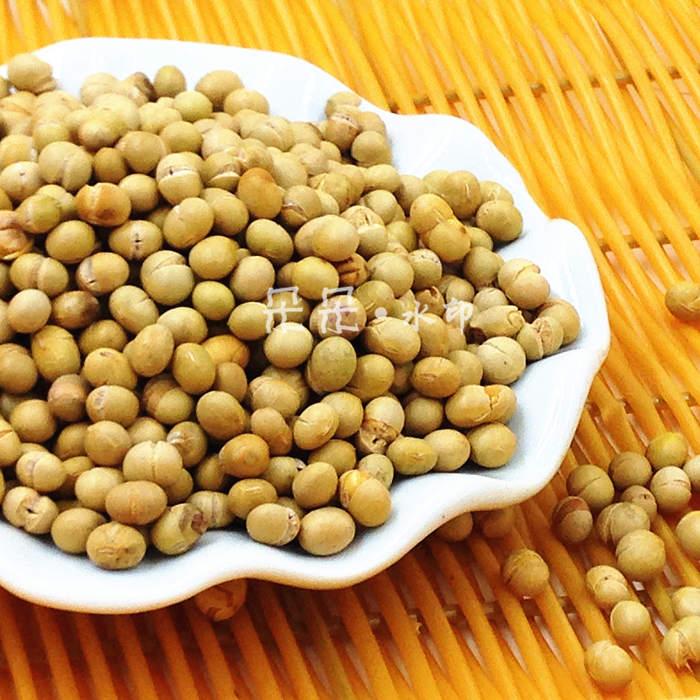 湖南特产零食农家炒黄豆300g散装儿时怀旧原味非转基因咸香熟豆子