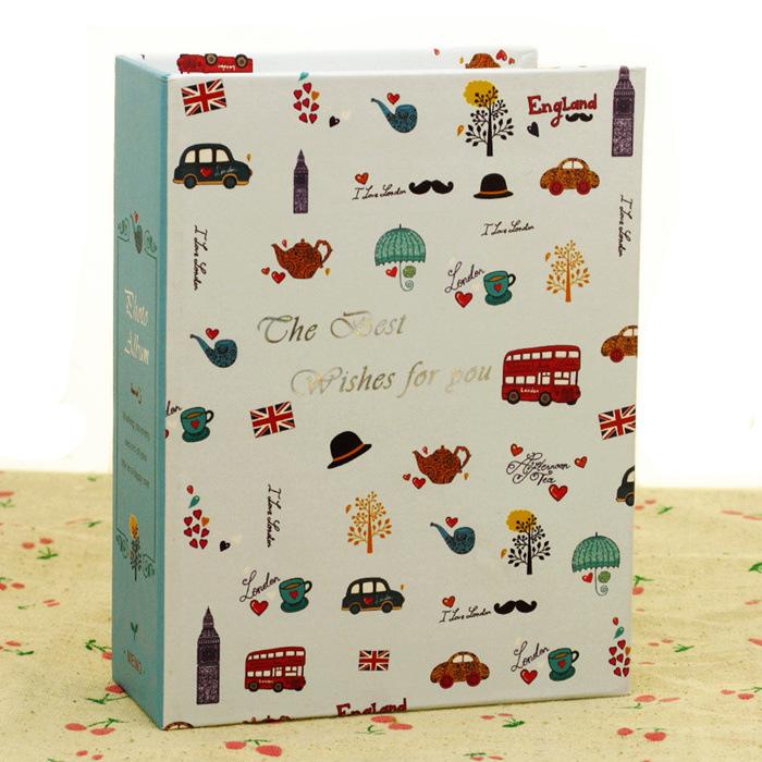 厂家直销相册批发卡通儿童影集插页简装6寸100张相册包邮