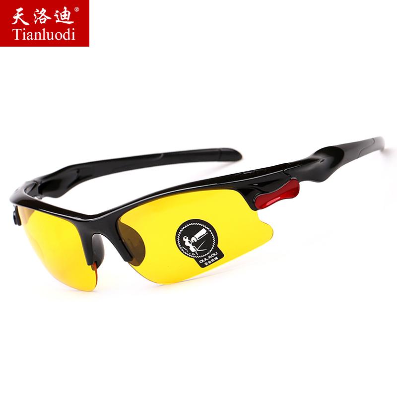 夜视镜开车专用非偏光镜男士太阳镜男女潮墨镜运动司机镜骑车眼镜