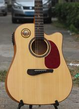 二手全单板民谣吉他闲置全单吉他急转自用41寸高端木吉他