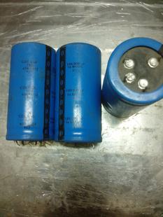 美国原装拆机CDE 16v 120000uf  发烧胆机灯丝滤波电容