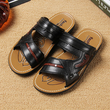 凉鞋 运动休闲两穿拖鞋 韩版 男士 厚底夏季透气防水沙滩鞋 凉拖鞋 新款