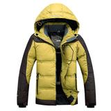 反季冬季新加厚无缝防风保暖男士户外羽绒服男白鸭绒滑雪服清仓