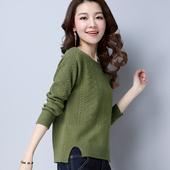 短款毛衣女套头秋冬新款韩版宽松显瘦百搭长袖打底衫外穿针织上衣