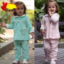 2014秋季新款女童套装婴幼儿外出衣服6个月1周岁宝宝两周岁BB秋装