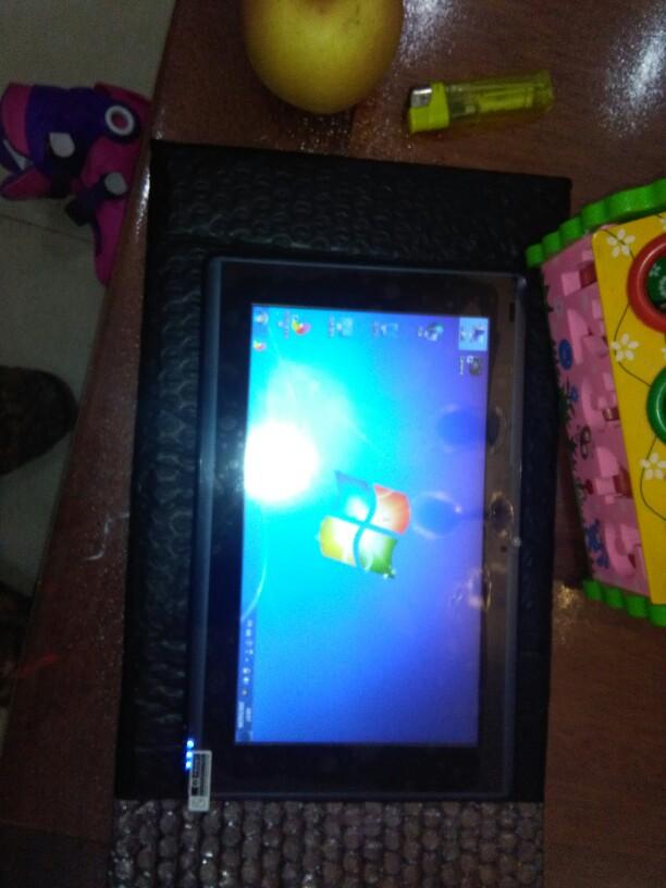 10寸win7 XP平板电脑windows7 xp平板电脑win平板网线RJ45工业