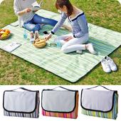 户外郊游野餐垫防潮垫可折叠草坪地垫牛津布防水沙滩垫野炊草地垫