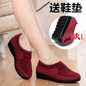 17春秋女鞋老北京布鞋单鞋中老年