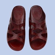 塑料软底妈妈凉拖鞋 居家防滑平跟老人奶奶鞋 中老年女鞋 夏季新款