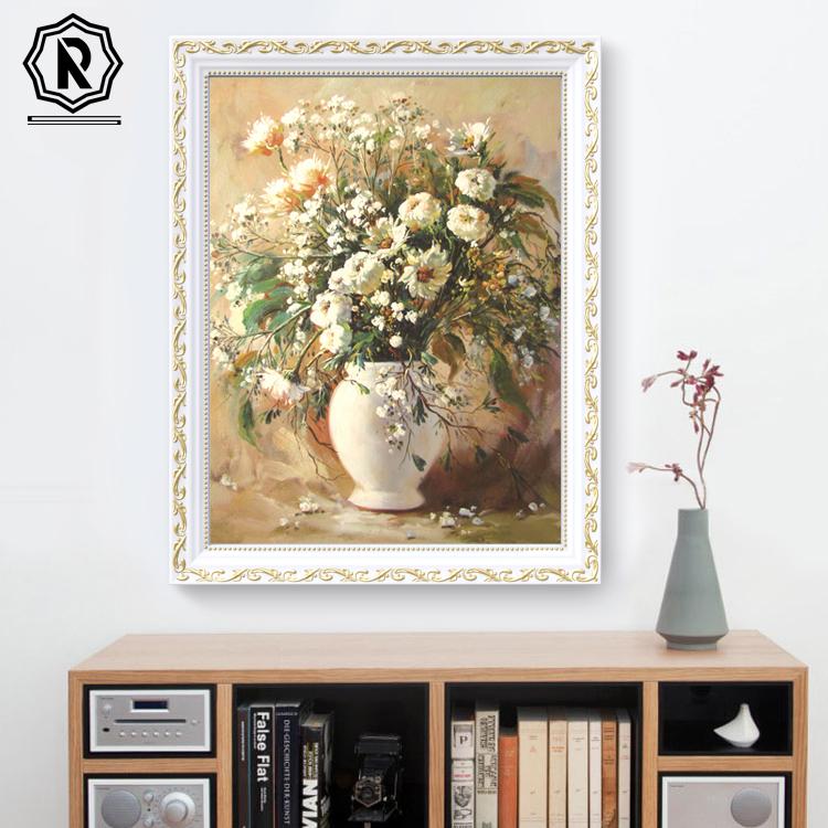 挂画餐厅欧式现代简约壁画玄关油画墙画沙发背景墙