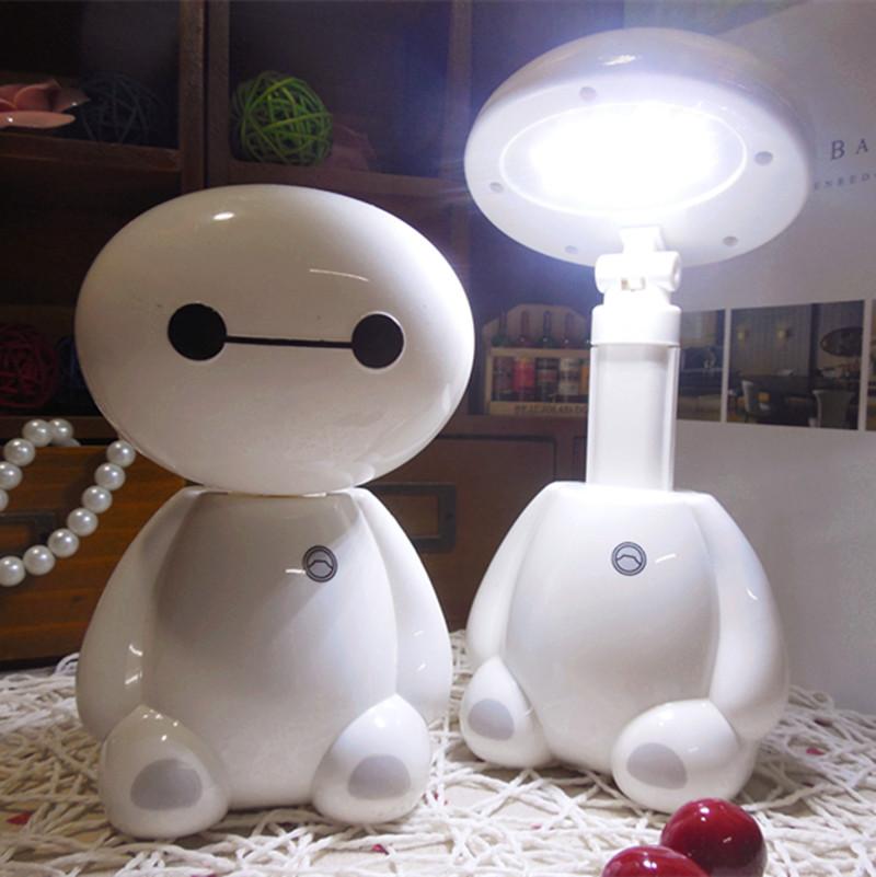 大白LED台灯护眼学习灯充电学生书桌小台灯宿舍寝室阅读毕业礼物