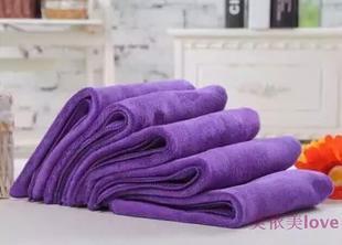 2016 美容院美发专用毛巾洁面巾柔软吸水彩虹色品高质身体护肤spa