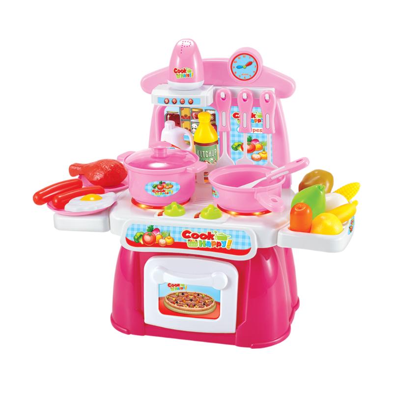 儿童过家家厨房玩具 女孩做饭煮饭厨具餐具玩具套装3-6岁