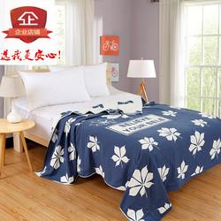 纯棉单人双人毛巾被四层纱布夏季空调盖毯床单布毯子新疆不包邮