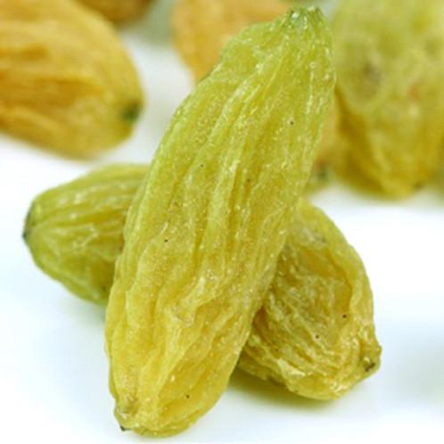 包邮特级吐鲁番绿香妃无核免洗葡萄干散装 500g 新疆特产葡萄干