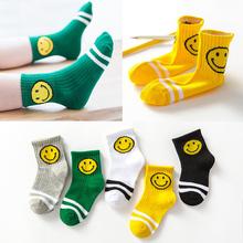 儿童袜子纯棉1-3-5-7-9岁薄中大男童女童小孩宝宝春秋冬款中筒袜