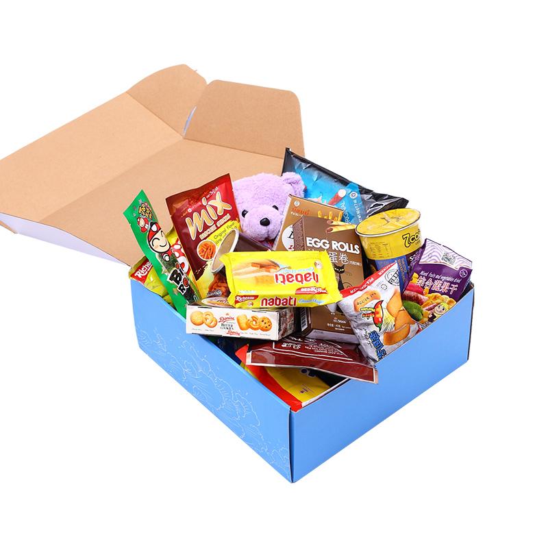 七夕情人节进口零食大礼包组合表白送女友生日礼物超大混装一整箱