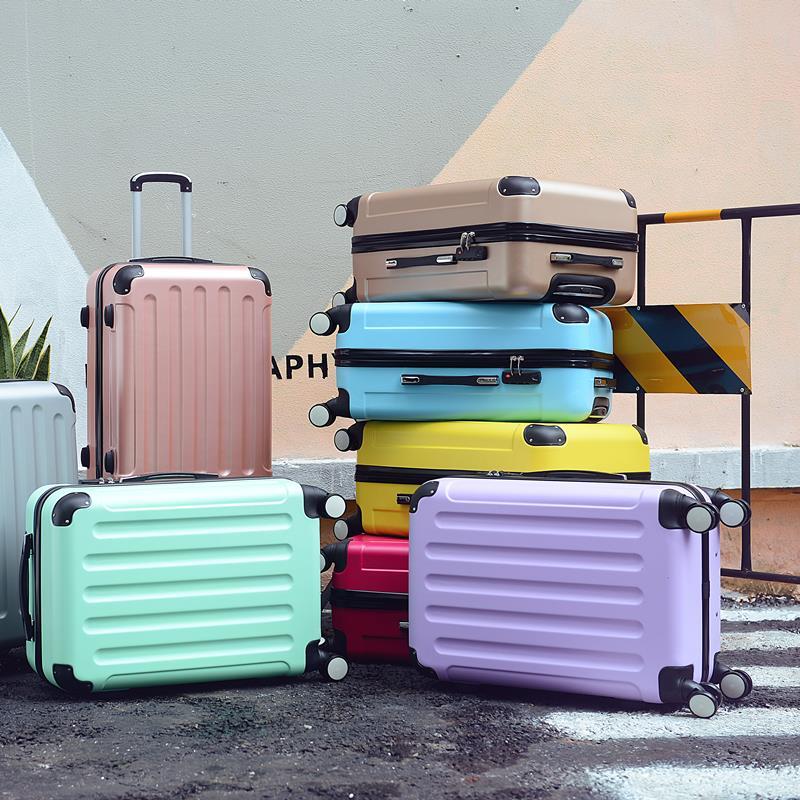 玫瑰金旅行万向轮子母拉杆箱子20行李登机密码箱包学生硬箱24寸女