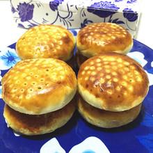 包邮 湖南特产老益阳手工制作活油酥皮月饼素馅糕点零食中秋礼盒装