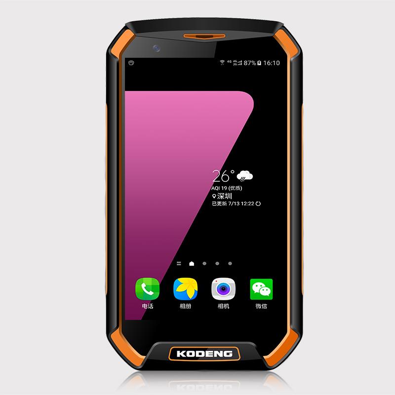 手机囹�a�/k9�dyg`_kodeng k9酷登正品智能三防手机 八核全网通4g电信 防水 指纹解锁