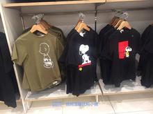 【发售】Uniqlokaws优衣库代购联名短袖T恤史努比男女同款