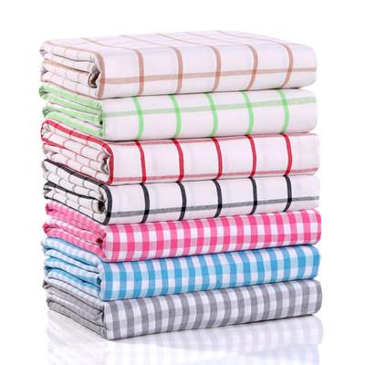【天天特价】轻微瑕疵处理-棉加厚老粗布床单单件双人2.0米*2.3米