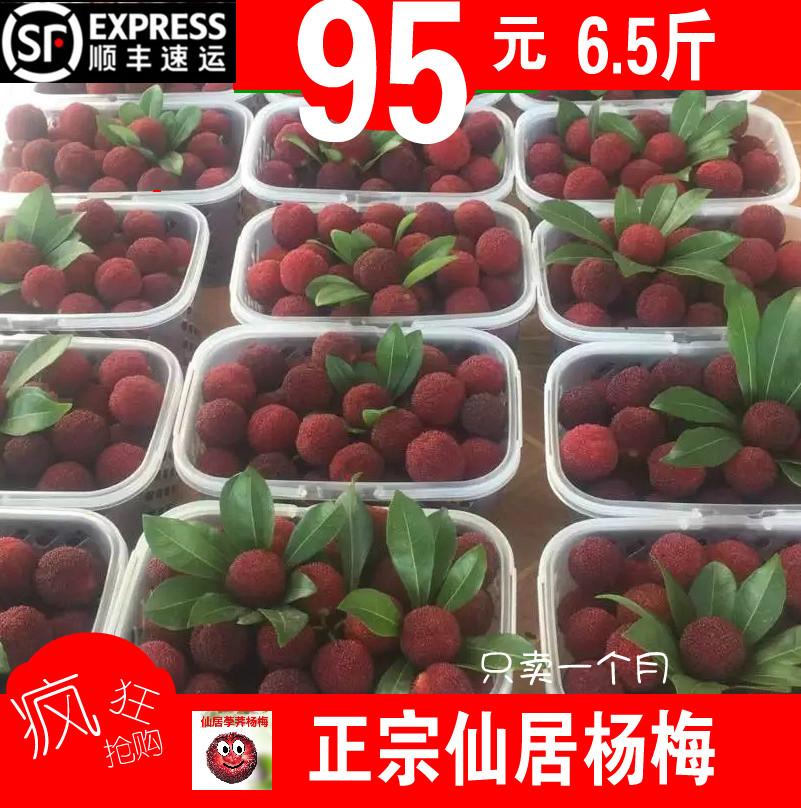 杨梅荸荠水果孕妇新鲜仙居