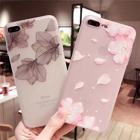 凋零桃花 苹果6手机壳iPhone7/6s/plus硅胶超薄软套全包潮女同款