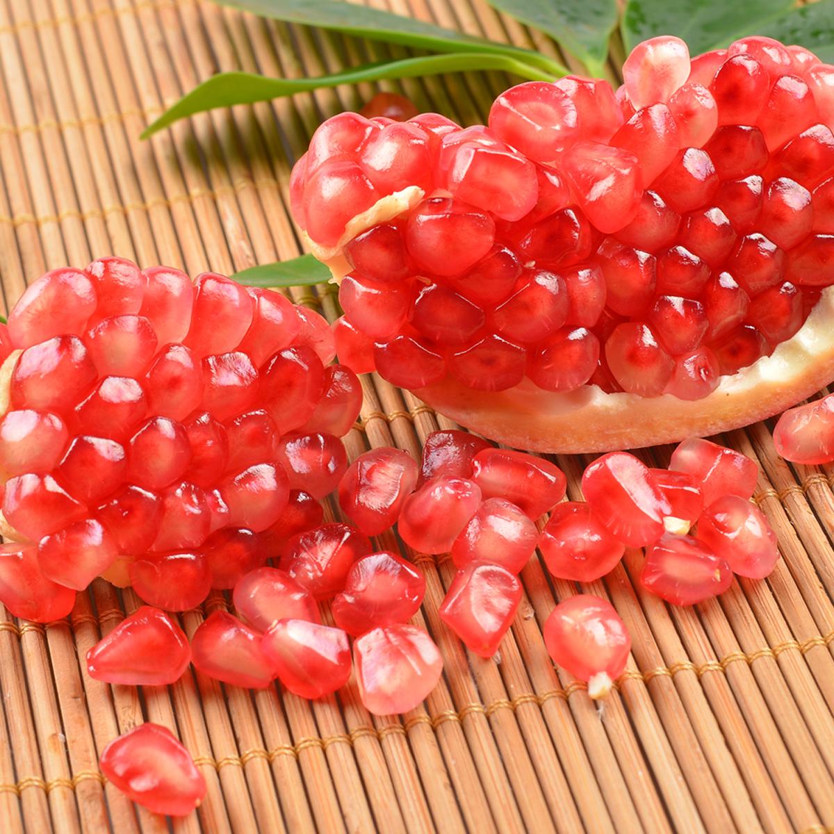 陕西临潼石榴新鲜现摘大红石榴农家时令水果特产5斤当季孕妇水果