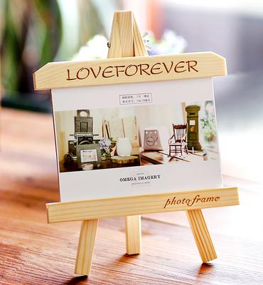 7寸七5 6 8 10 A4相框摆台创意欧式实木婚纱照儿童画框l礼品礼物
