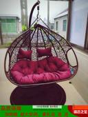 藤吊篮单双人吊椅鸟巢户外休闲成人摇椅室内阳台藤椅居家客厅秋千