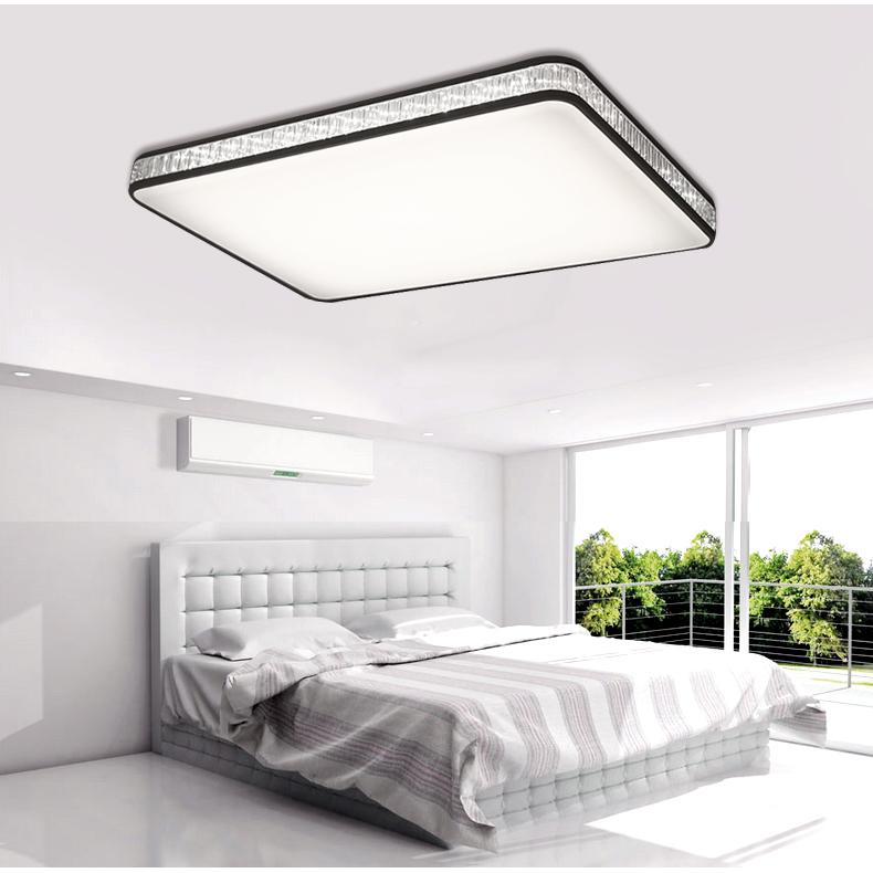 飞利浦客厅灯 长方形卧室超薄简约现代大气遥控led吸