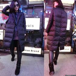 2016冬装新款大码女装胖mm棉服中长款羽绒棉衣200斤棉袄显瘦外套