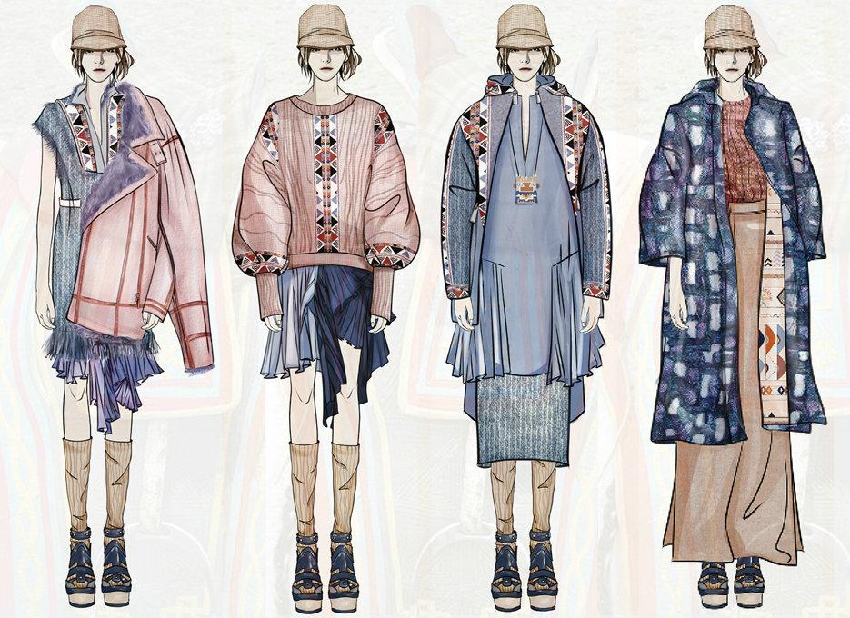 g1服装设计效果图款式图春夏秋冬灵感图临摹素材作品资料企划图片