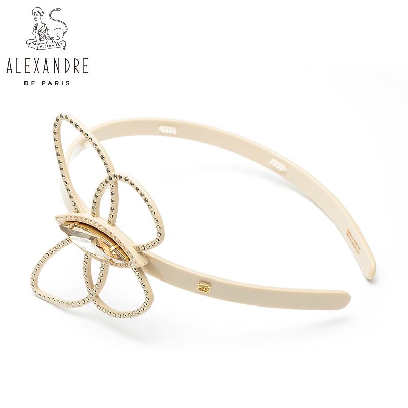 法国Alexandre De Paris亚历山大唯爱系列发箍压发头箍头饰发饰品